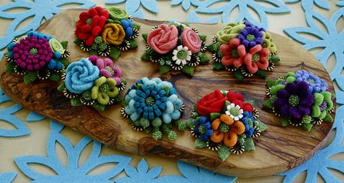 A new bunch of brooches! | Flickr - Photo Sharing!