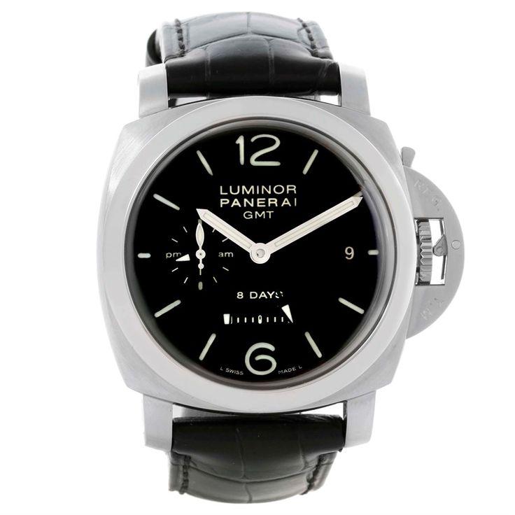 11176 Panerai Luminor 1950 8 Days GMT 24H Watch PAM233 PAM00233 Unworn SwissWatchExpo