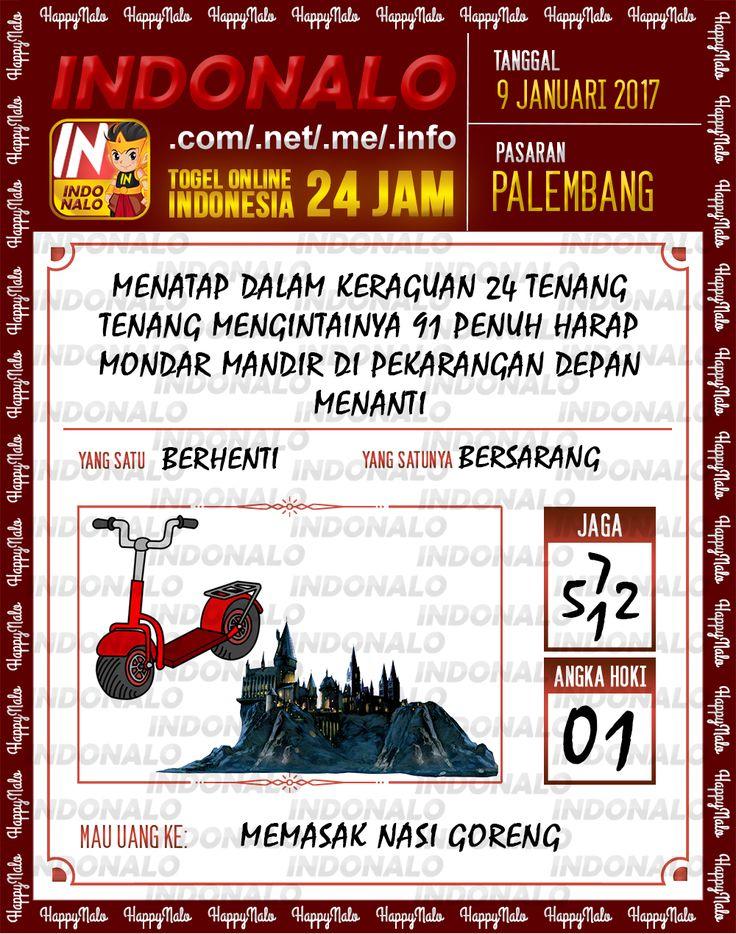 Kode Jaga 6D Togel Wap Online Live Draw 4D Indonalo Palembang 9 Januari 2017