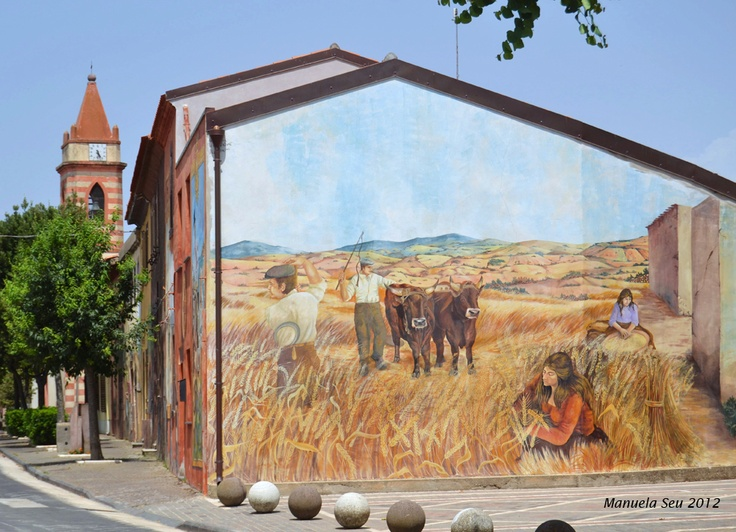 #Murales in #Sardegna #Sardinia #Tinnura