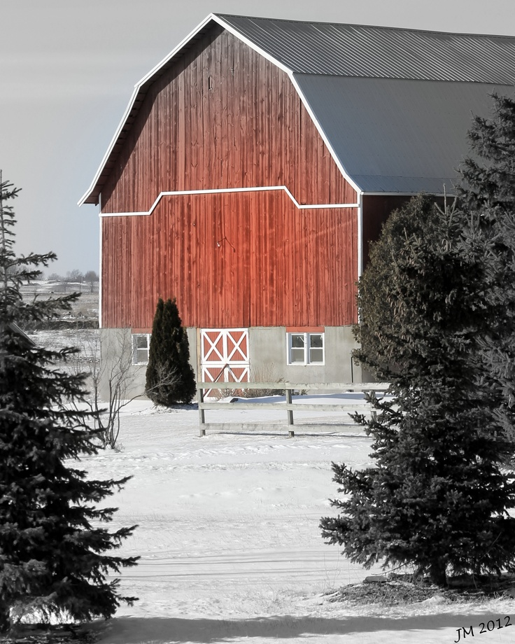 1000+ Images About Barns And Winter On Pinterest