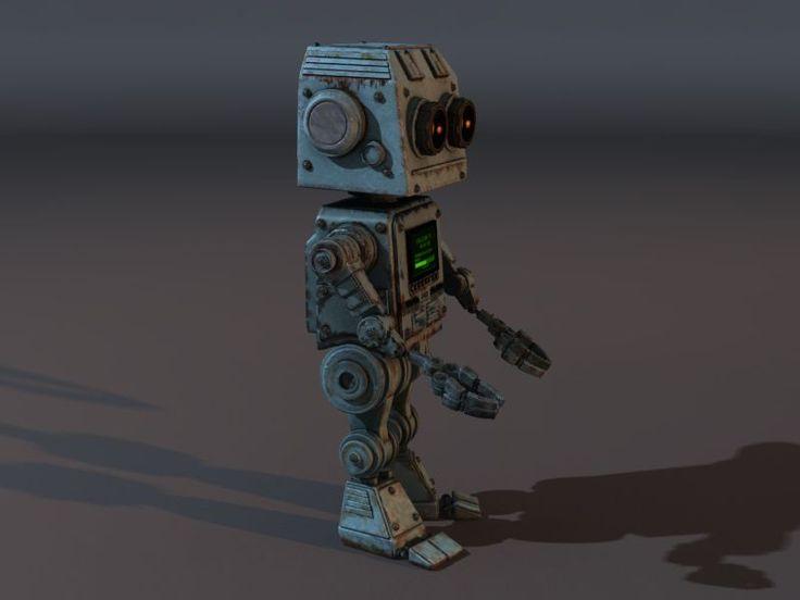 3D Model Classic Robot | Free 3D Models - General | mmrobi - 3D Squirrel