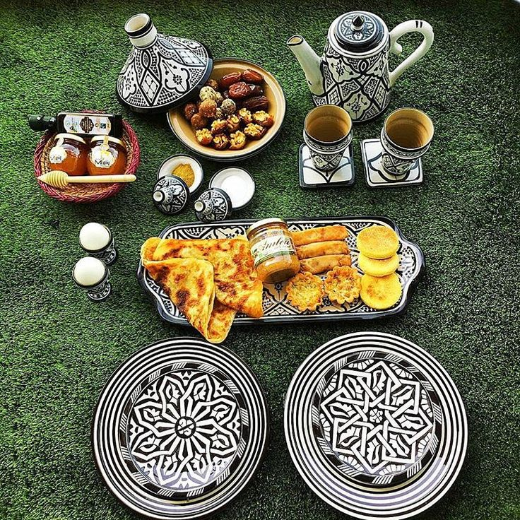 Moroccan breakfast..