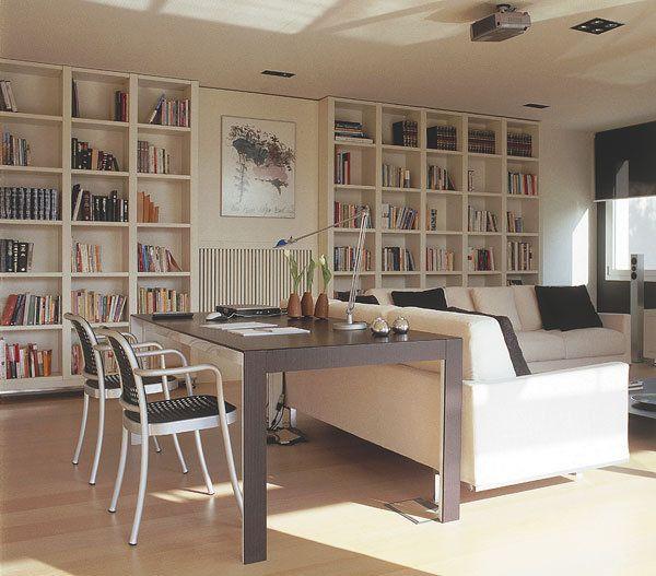 Mejores 9 imágenes de Librerías de Salón en Pinterest | Librerías de ...