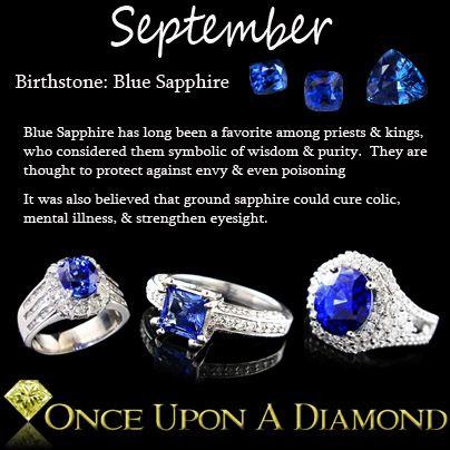 September Birthstone Information  Lore  #September #Birthstone #Sapphire