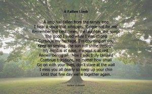 a limb has fallen from the family tree poster | Fallen-Limb--300x186.jpg