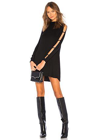 2d5c38ab10bb Akila Slit Sleeve Dress   Kleiderschränke   Dresses, Dresses with ...
