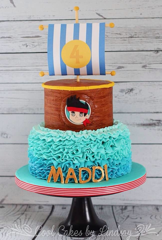 Jake And The Neverland Pirates Birthday Cake Pictures