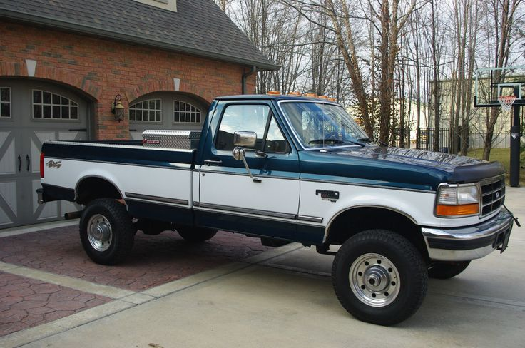 Details About 1997 Ford F 350 Xlt Standard Cab Pickup 2