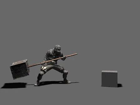 Dark Souls Hammer Animation