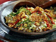 Gebratener Reis mit Gemüse und Ei |