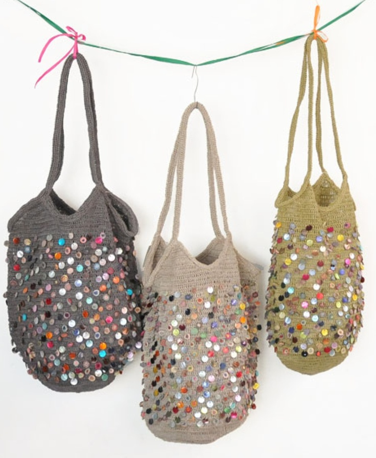 Crochet + Sequins (?) = Awesome