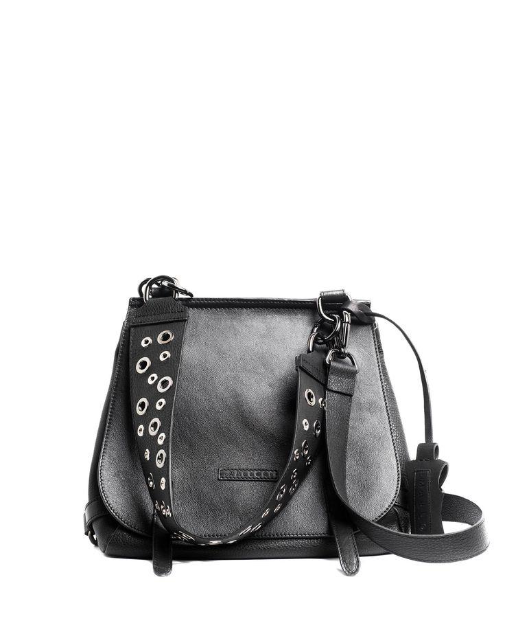 Malloni double leather satchel // Shop online at Malloni Online Boutique