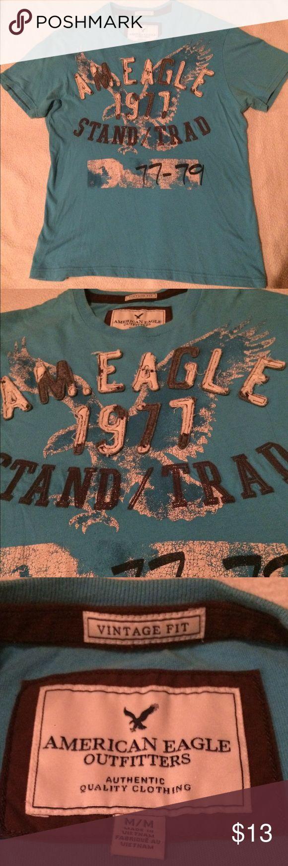 Like new! Boys American Eagle shirt. Like new condition! Boys American Eagle shirt. Very cool! American Eagle Outfitters Shirts & Tops Tees - Short Sleeve
