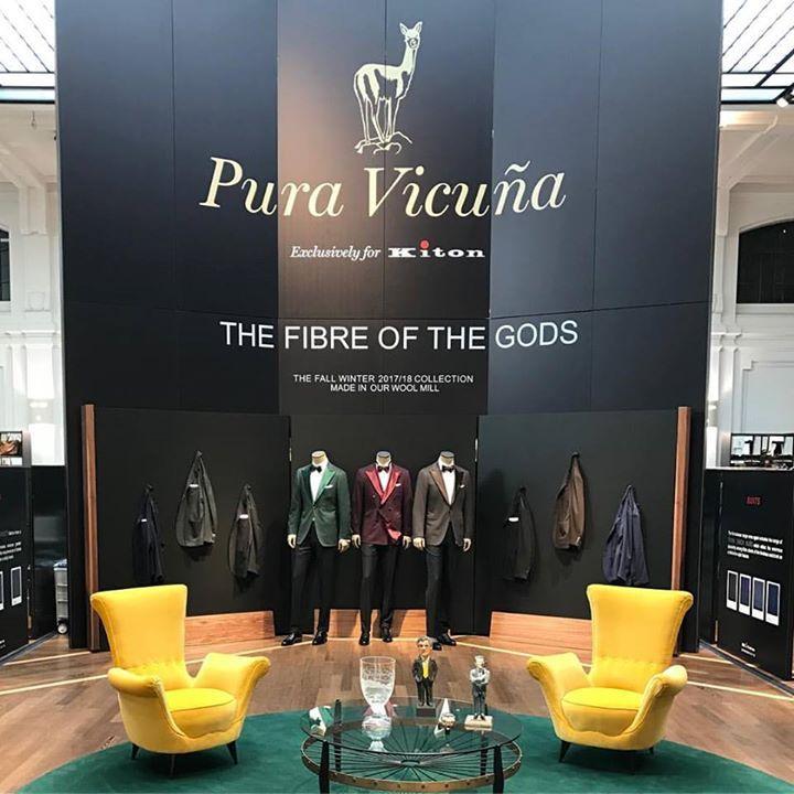 Milano. Now. Inspiring!  #milano #vicuña #llama #luxury #best #kiton #exclusive #fair #palazzo #bespoke #italia #italy