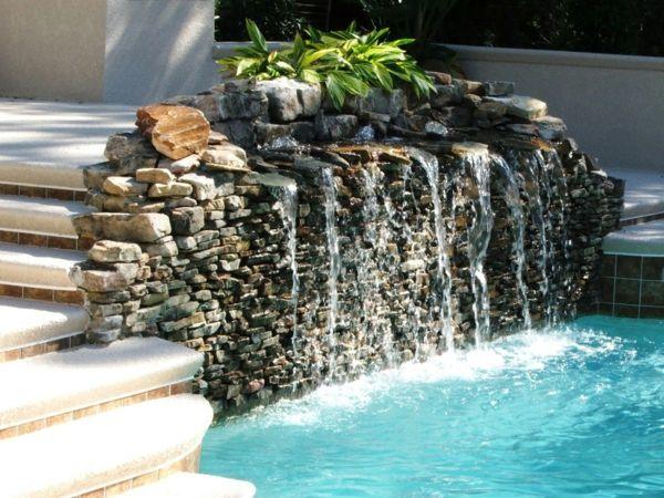34 best Fontaine images on Pinterest Bathroom, Antique furniture - fontaine a eau exterieur solaire