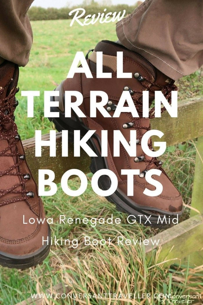 Lowa Renegade GTX Mid Hiking Boot Review - we tested out these popular multi purpose, all terrain hiking boots along the Severn Way in Gloucestershire as well as here in the the wet and wild English Lake District. Read the post to find out our verdict and to see if they're the right boots for you.