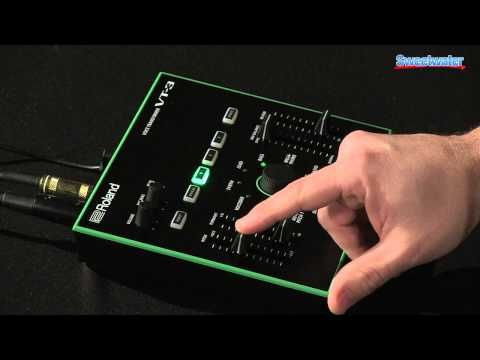 Roland AIRA VT-3 Vocal Transformer Demo - Sweetwater Sound - YouTube