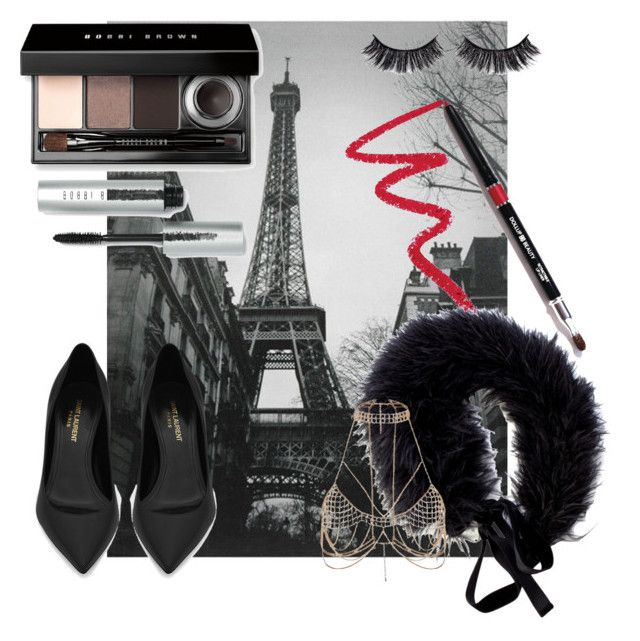 """""""A little bit of Jessica"""" by tigajiek on Polyvore featuring Valentino, Bobbi Brown Cosmetics, Battington, Dollup Beauty, Yves Saint Laurent and River Island"""