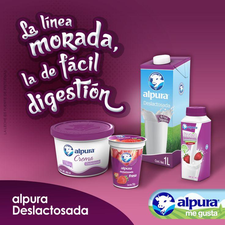 Cuando la leche llega al estómago su principal proteína, la caseína, se coagula y puede resultar difícil para digerir. Es importante que dichos coágulos sean pequeños y suaves para hacerla más digerible. Te recomendamos consumir leche alpura Deslactosada, ya que es deliciosa y podrás digerirla con facilidad.  Conoce más tips para digerir mejor la leche en aquí. #AlpuraDeslactosada #AlpuraMeGusta #Alpura
