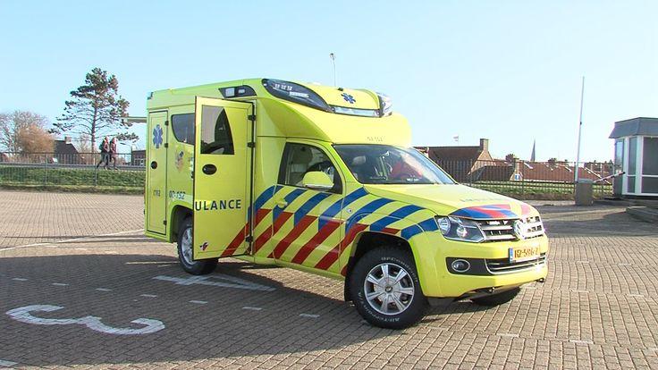 GPTV: Terschelling krijgt nieuwe ambulance. Terschelling gets a new ambulance.