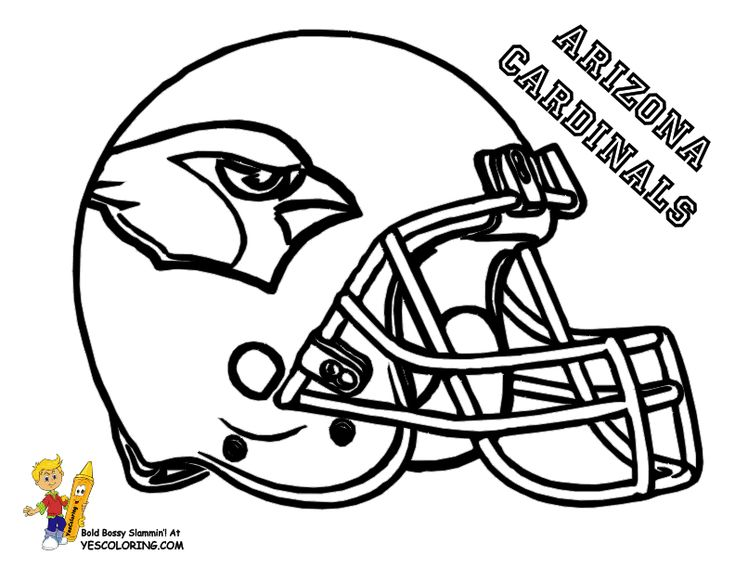 bears helmet coloring pages - photo#11