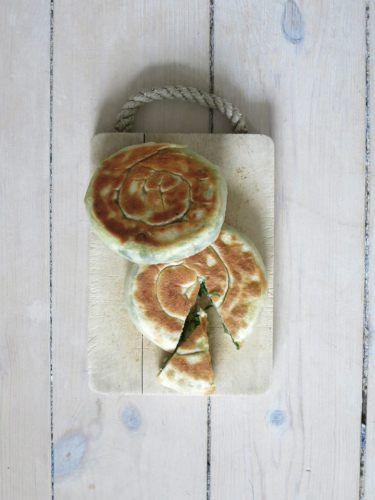 Forårsløgskage | 葱油饼 | cong yau bang