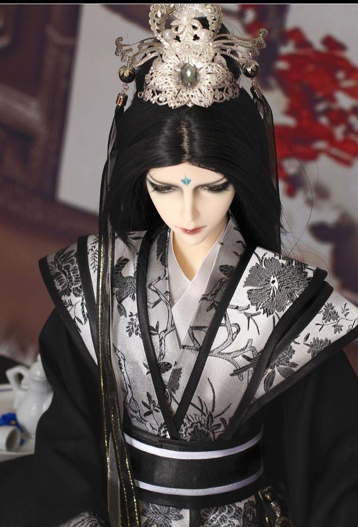 Коллекционные шарнирные куклы, китайский стиль: alionushka1