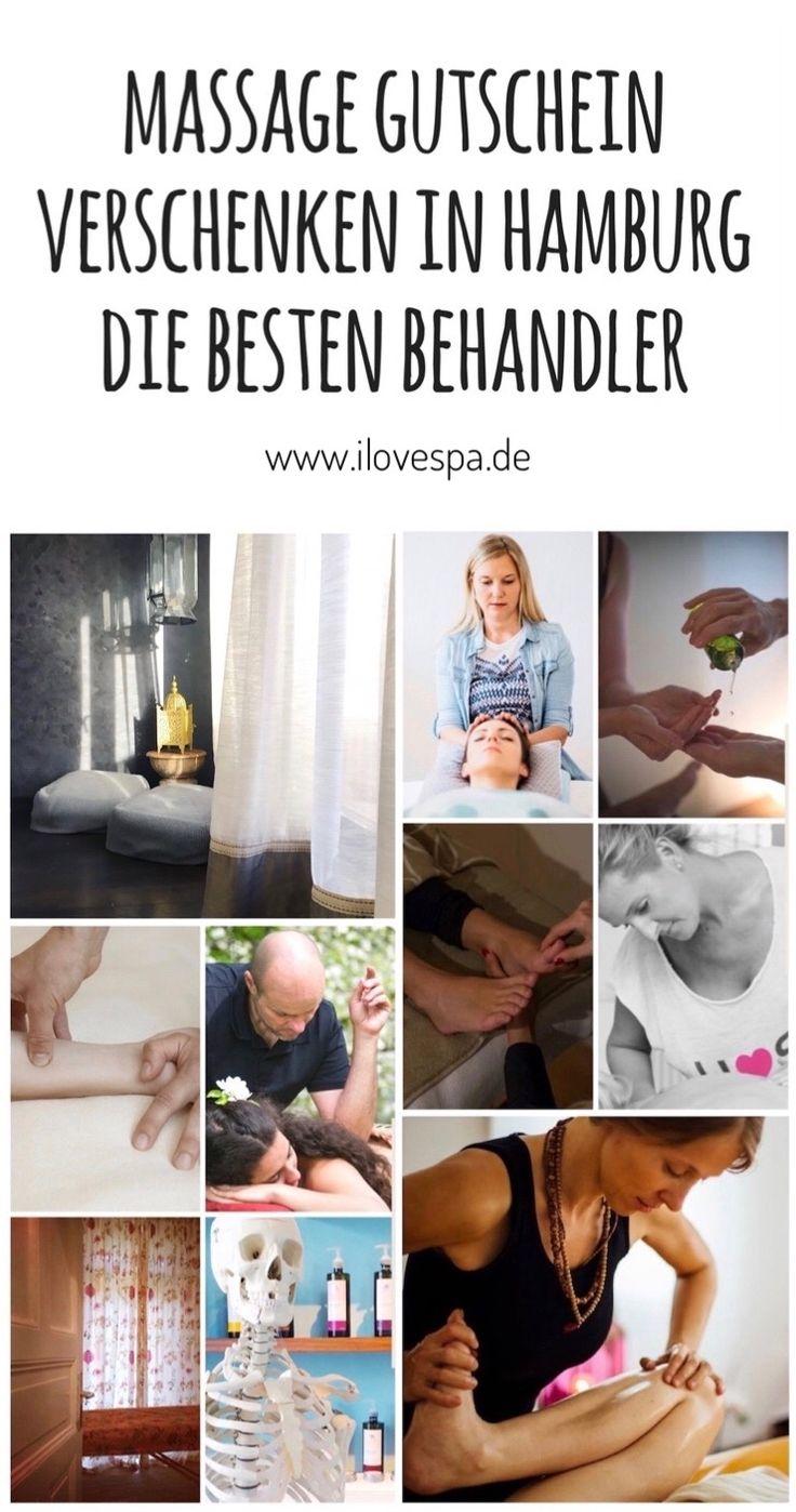 Wellness Geschenkidee Massage - Ihr wollt einen Massage Gutschein in Hamburg verschenken? Hier findet ihr die besten Behandler :)