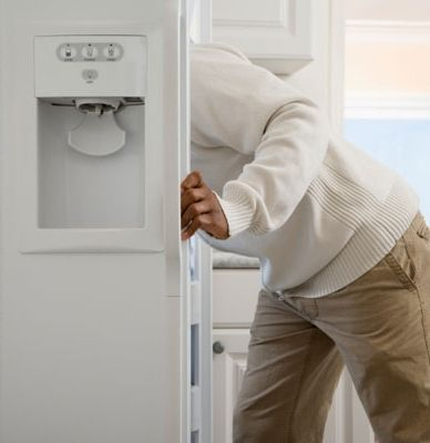 Nabbing food fast is the trick to cutting refrigerator energy costs. Reduce the number of times you open your fridge—the average is 33 times a day—so that the fridge uses 10 percent less electricity and you'll save $15 a year.