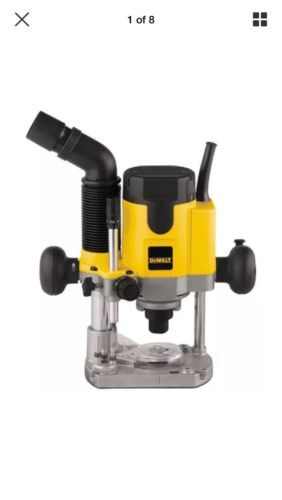 Routers 122829: Dewalt 2 Hp Evs Plunge Router Dw621 New -> BUY IT NOW ONLY: $219.99 on eBay!