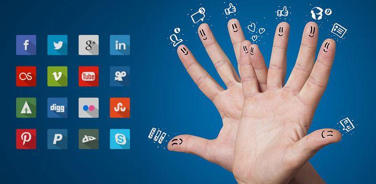 icoane social media