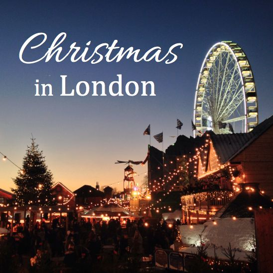 Christmas in London at the Hyde Park Winter Wonderland