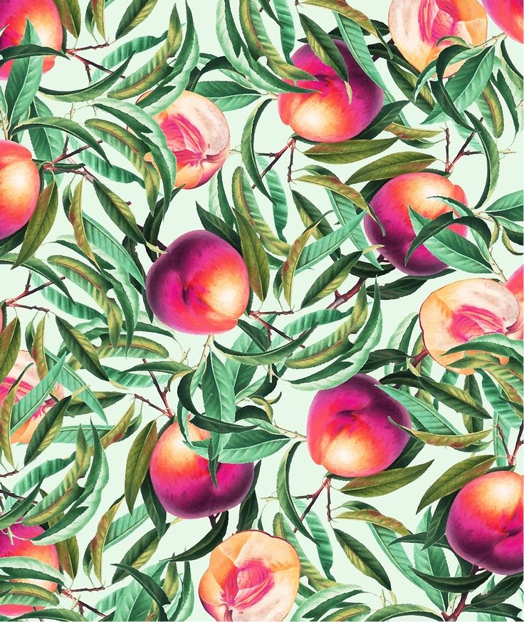 Sweet Peaches #redbubble #decor  by Uma Gokhale