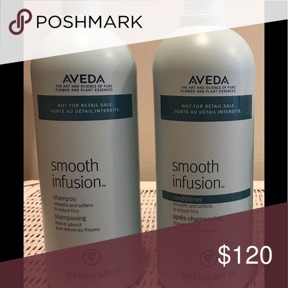 AVEDA Smooth infusion shampoo and conditioner set Brand new shampoo and conditioner. Price is film. AVEDA Other