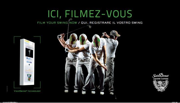 La nouvelle affiche du golf de Saint Donat signée Pôle Company