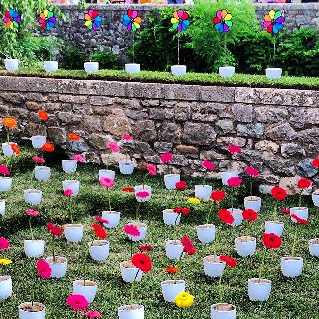Girona Temps de Flors 2014 Spring Flower Festival, Catalonia via 6ku.