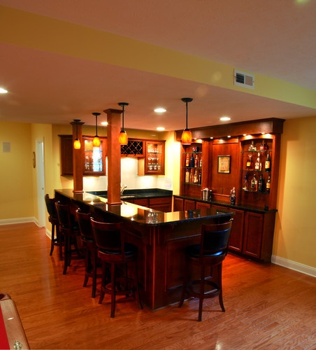 21 Best Images About Basement Bar Ideas On Pinterest