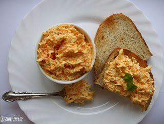 Szemirámisz függőkertje: Füstölt sajtos, sárgarépás kenő