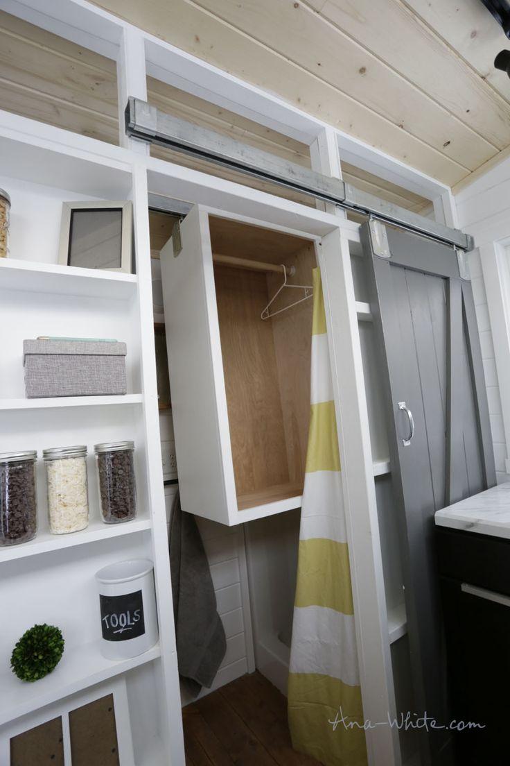17 Best ideas about Tiny House Closet on Pinterest Tiny homes