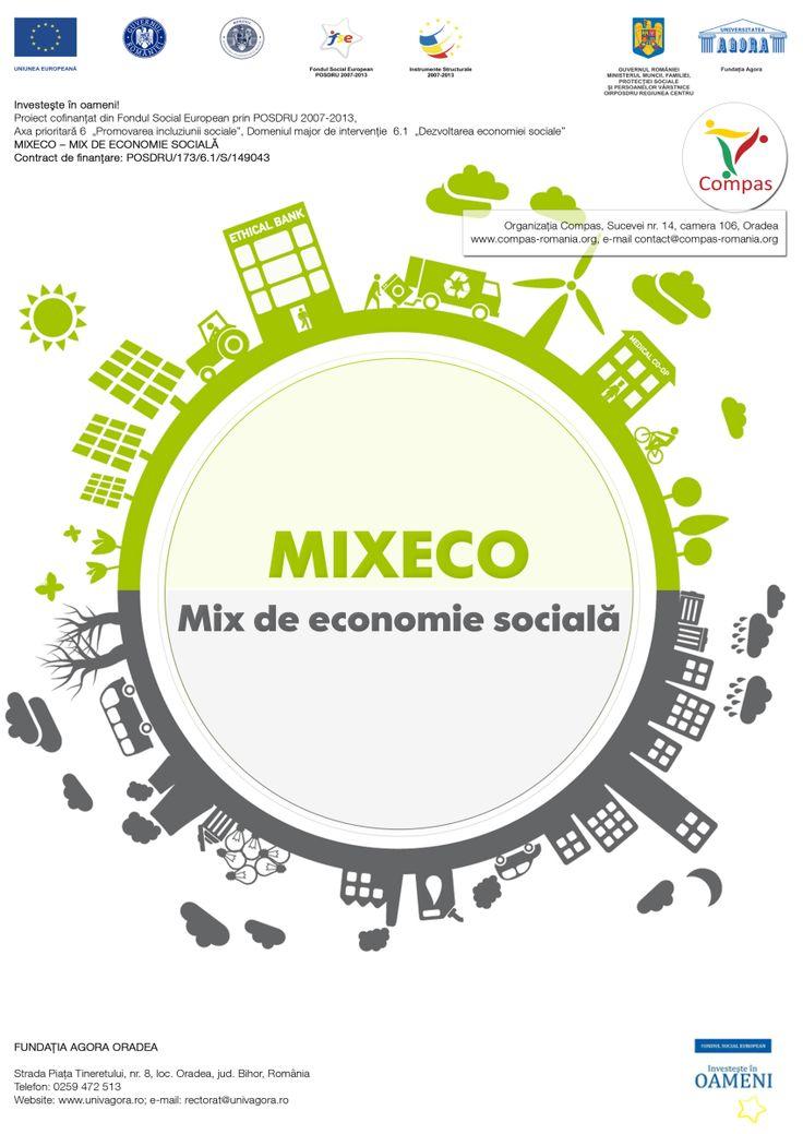 """Organizația Compas vă invită să participați la workshop-ul """"Economia socială: experiențe și comunicare"""" organizat în cadrul proiectului """"MIXECO - MIX DE ECONOMIE SOCIALĂ"""". Workshopul va avea loc la..."""