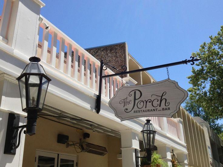 The Porch Restaurant & Bar (American Restaurant), 1815 K Street, Sacramento, CA
