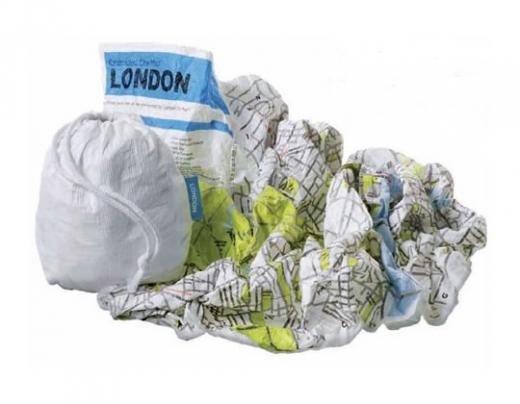 Crumpled City ™ Map