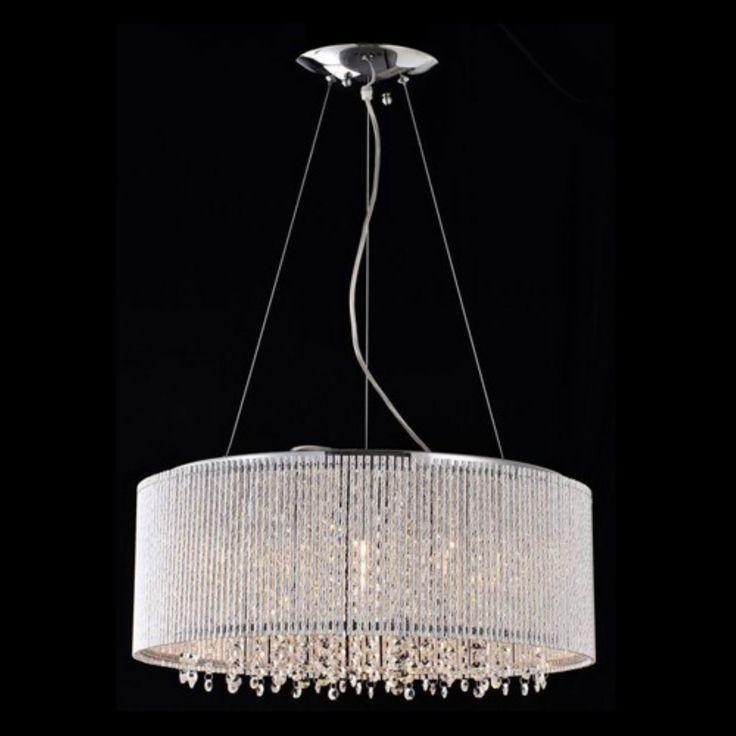 Bromi Design BCP1113-10 Crystalline Modern Crystal Chandelier - BCP1113-10