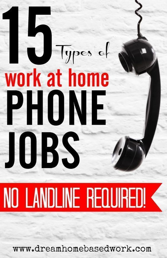 Want a work from home job that don't require a landline phone? You're in luck! Here's 15 types of work at home jobs where you can make money online without the use of a landline.