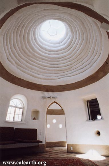 Main dome of Eco-Dome, designed by California Institute of Earth Art and Architecture.