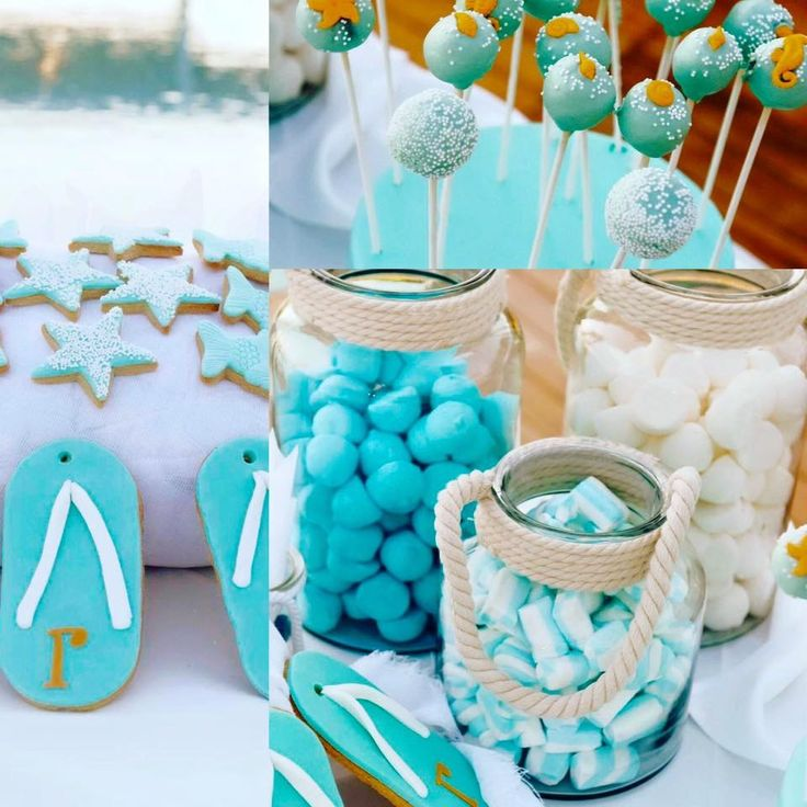 Turquoise candy bar