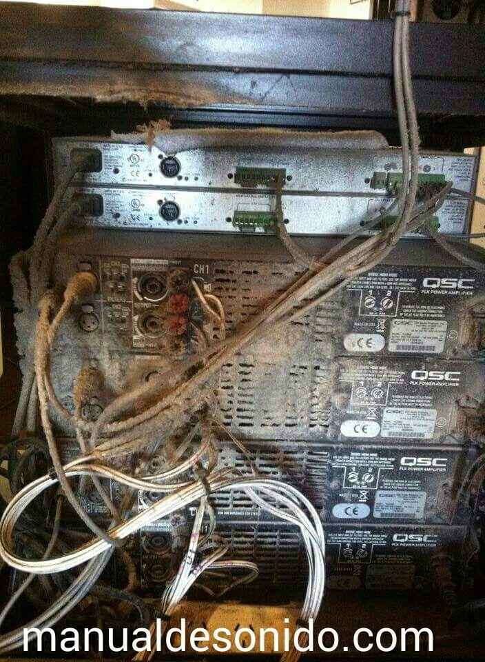 Ésto pasa por no hacer mantenimiento a nuestros sistemas de audio. #Manualdesonido @manualdesonido @Engineertorresr