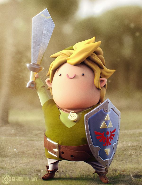 Chubby Link by Gerard Dunleavy, via Behance