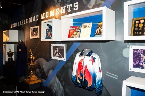 Pay a visit to the National Wrestling Hall of Fame & Museum in Stillwater, Oklahoma. Here, you'll see Olympic wrestling uniforms, historical documents, granite plaques and interactive exhibits.